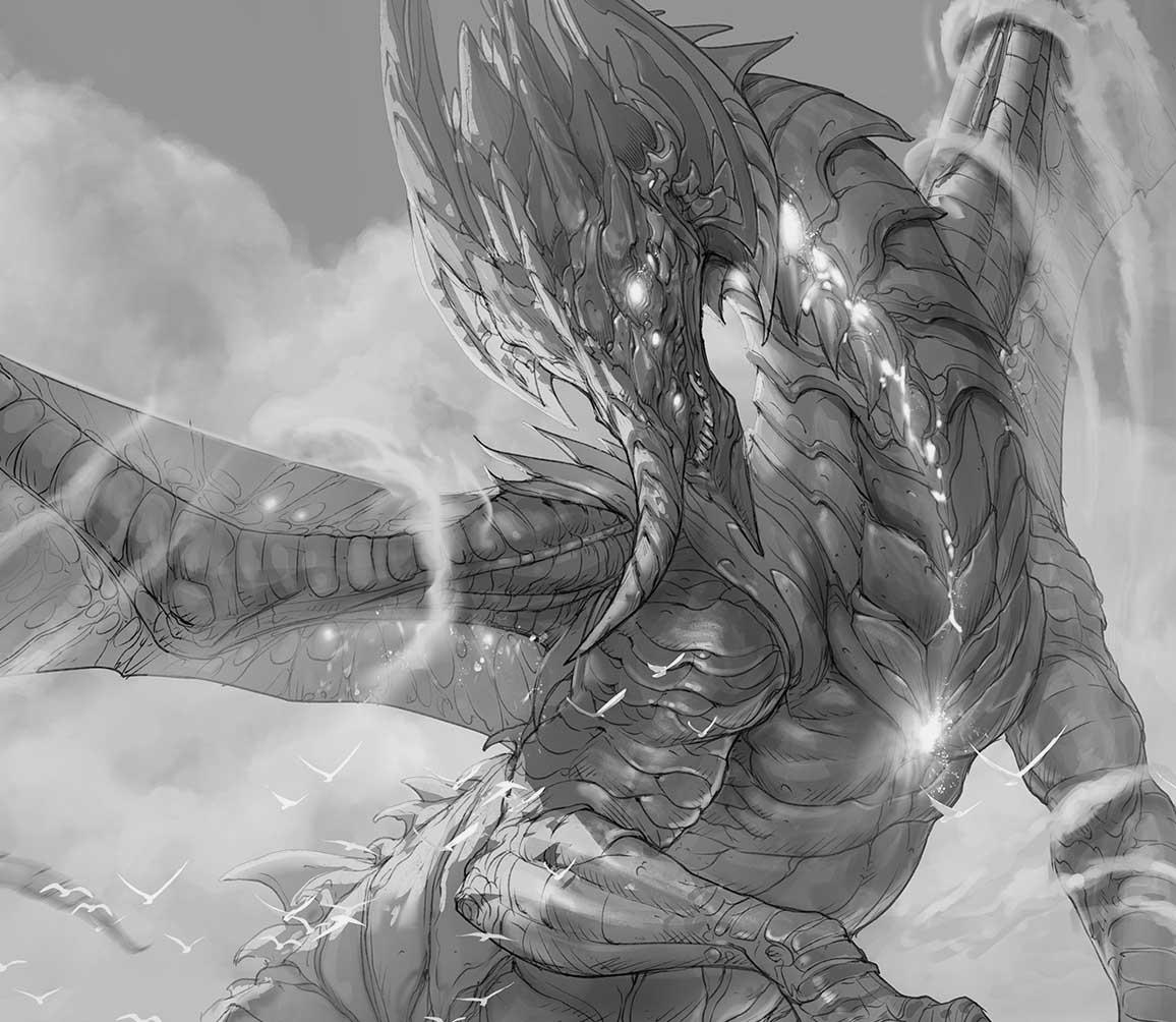 Wild Assent - Daeron Dragon
